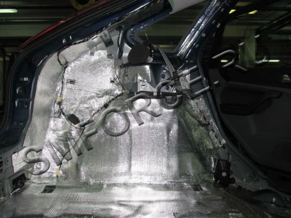 Шумоизоляция арок форд 2 своими руками